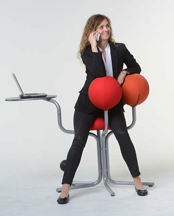 Globe Concept Tree - business woman phone