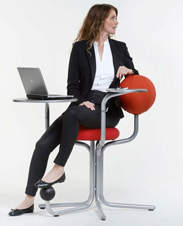 Globe Concept Tree - business woman turned