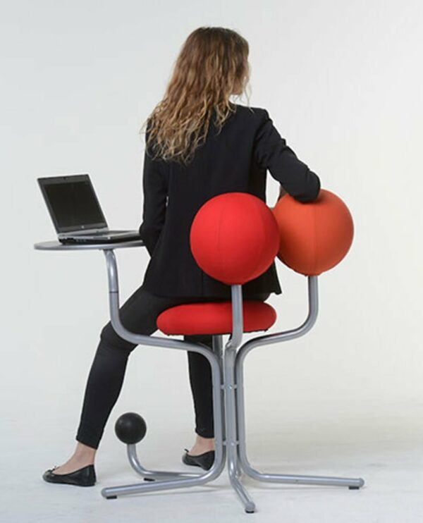 Globe Concept Tree - business woman back