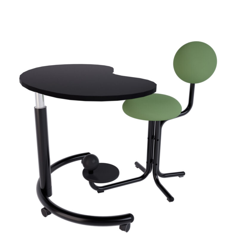 globeconcept globe green roll table